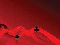 Card symbols background 2 Stock Image