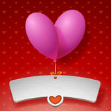 Balloons for love Royalty Free Stock Photo