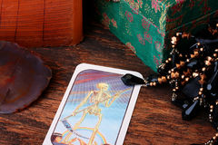 Card tarot Stock Photography