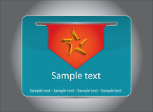 Card template Royalty Free Stock Photos