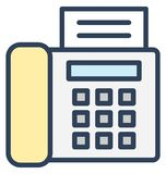 Card terminal, Card Isolated Vector Icon That can be easily edited in any size or modified. royalty free illustration