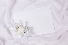 Card for text and weddings accessories Royalty Free Stock Photos