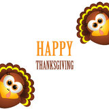 Card for Thanksgiving Day. Stock Images
