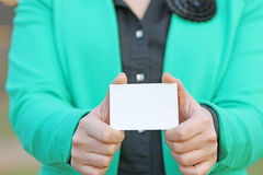 Card to change the appearance Royalty Free Stock Photos