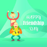 Card to the day of friendship. Royalty Free Stock Photos