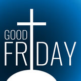 Card to Good Friday Stock Image