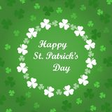 Card to St. Patrick's Day Stock Photos