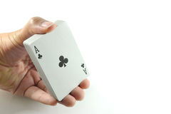 Card trick Royalty Free Stock Image