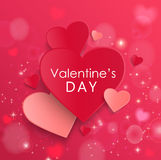 Card for Valentine Day. Royalty Free Stock Photography