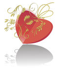 The card for Valentine's Day Royalty Free Stock Photos