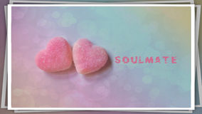 Card valentine theme Royalty Free Stock Images