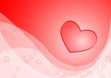 card valentinen Arkivfoton