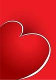 card valentinen Arkivbild