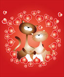 Card - Valentines day. Stock Images