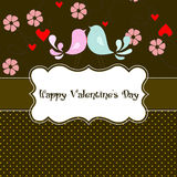 Card valentines day Stock Photo