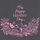 Card for Valentines Day Royalty Free Stock Image