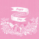 Card for Valentines Day Royalty Free Stock Photo