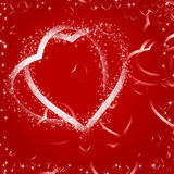 Card of Valentines day Stock Photography