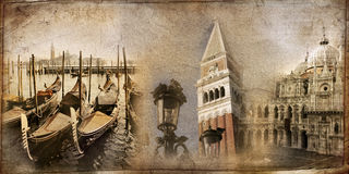 Card from Venice Royalty Free Stock Images