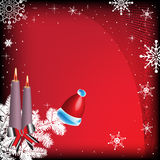 Card for winter holidays Royalty Free Stock Image