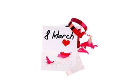 Card Women's Day Stock Images