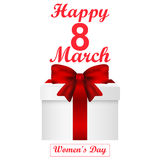Card for Women s Day Stock Photo