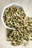Cardamom. Indian  cardamon  called elachi  in local language Stock Photo