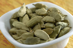 Cardamom Dried as condiments Stock Images