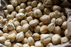 Cardamom. Dried seeds of cardamom which is used as flavorings and cooking spices in both food and drink Royalty Free Stock Photos