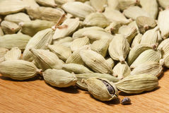 Cardamom pods close-up Stock Photography