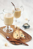 Cardamom Raisin Biscotti. Stock Photography