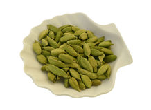 Cardamom seeds Stock Photography