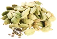 Cardamom seeds. Stock Images