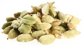 Cardamom seeds. Royalty Free Stock Photo
