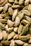 The cardamom seeds. The pile of cardamom seeds Stock Image
