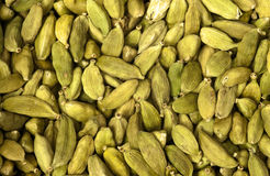 Cardamom Seeds. A Green Cardamom Seeds Texture Stock Images