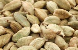 Cardamom seeds background Royalty Free Stock Photos