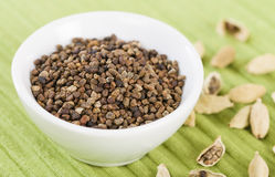 Cardamom Seeds Royalty Free Stock Images