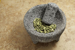 Cardamom Seeds green. Royalty Free Stock Photo