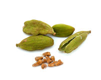 Cardamom seeds Stock Photos