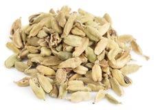 Cardamom  on white background Stock Images