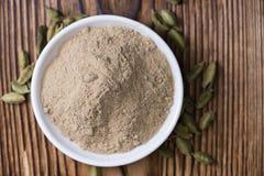 Cardamon Powder Stock Photo