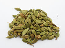 Cardamon seeds Stock Photos