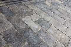 Cardano     pavement of  curch and marble Royalty Free Stock Photos