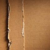 Cardboad ondulé Photos libres de droits