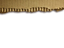 Cardboad ondulé Image stock