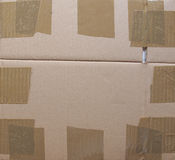 Cardboad ondulé Photographie stock