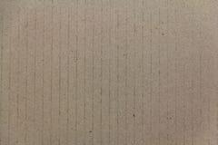 Cardboad ondulato Fotografia Stock