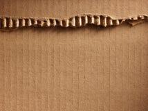 Cardboad ondulato Fotografie Stock