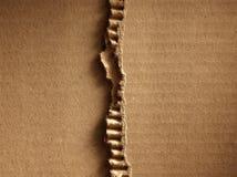 Cardboad ondulato Immagini Stock